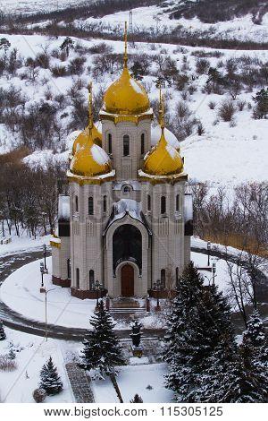 Church Of All Saints At Mamayev Kurgan