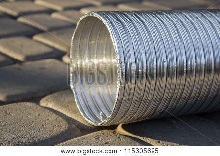 Corrugated Aluminum Pipe