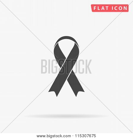 AIDS simple flat icon