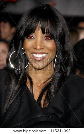 Shaun Robinson at the Los Angeles Premiere of