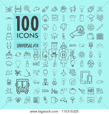 Universal icons set 7