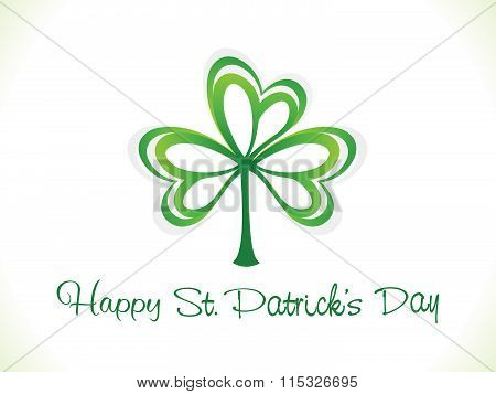 Abstract Artistic St Patric Background