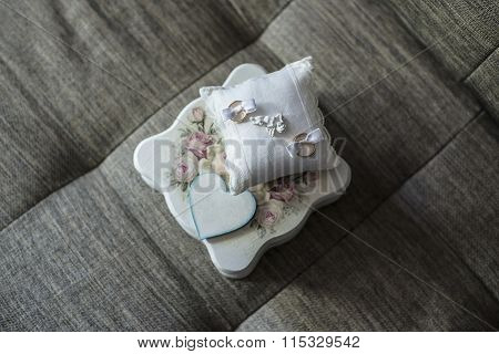 Wedding Ring And Box