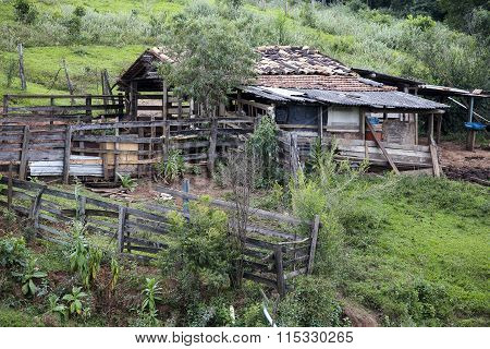 Abandoned Corral