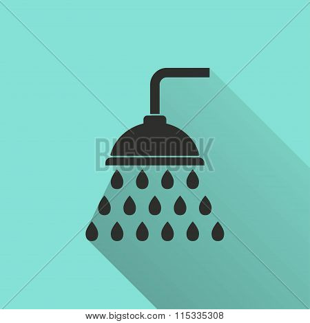 Shower - Vector Icon.