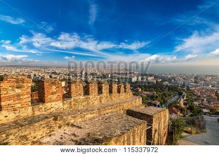 Trigonion Tower In Thessaloniki