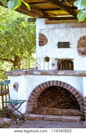 Old Oven In The Garden