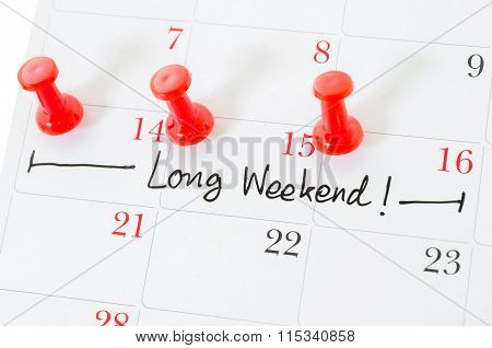The Words Long Weekend.