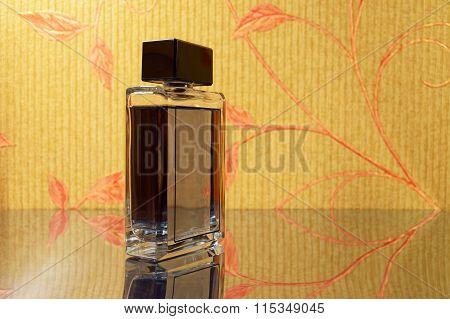 Elegant Bottle Of Perfume