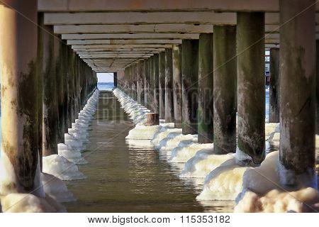 Bottom Of The Bridge