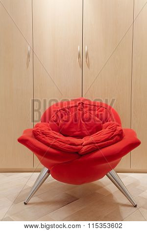 Avant-garde Armchair In Rose Shape