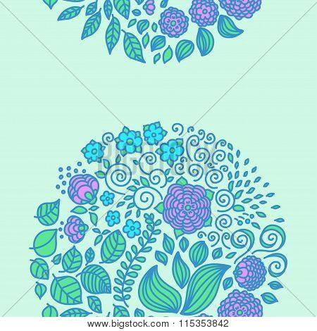 Tattoo Floral Doodle Vector Elements Set Decor Background