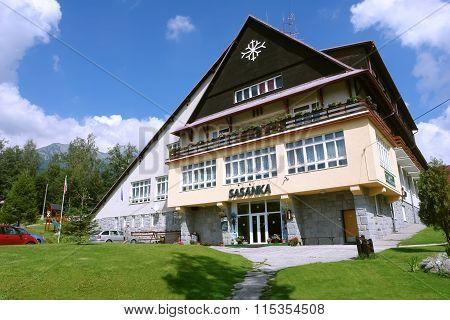 Build Of Hotel In Slovakian Tatras.
