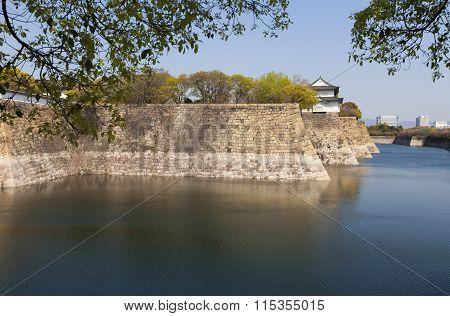 Moat of Osaka Castle