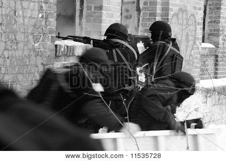 Subdivision Anti-terrorist Police