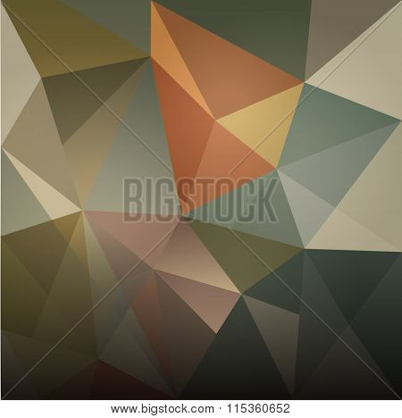 ABSTRACT MODERN DESIGN BACKGROUND- low poly