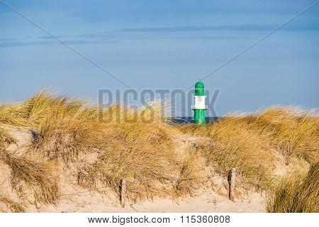 Dune On The Baltic Sea Coast