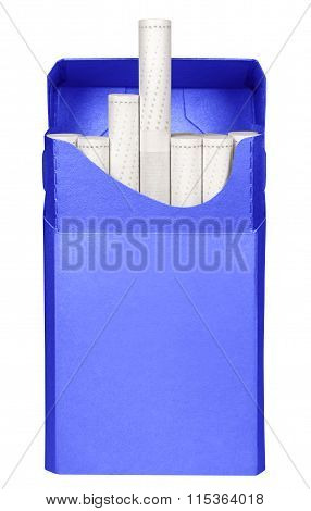 Cigarettes Box - Opened-blue