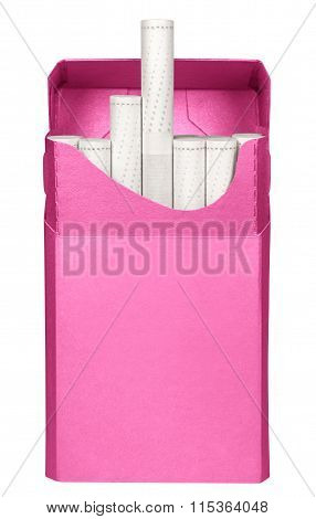 Cigarettes Box - Opened-pink