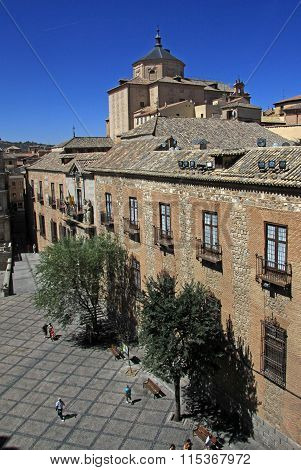 Toledo, Spain - August 24, 2012: View On Old Town Of Toledo