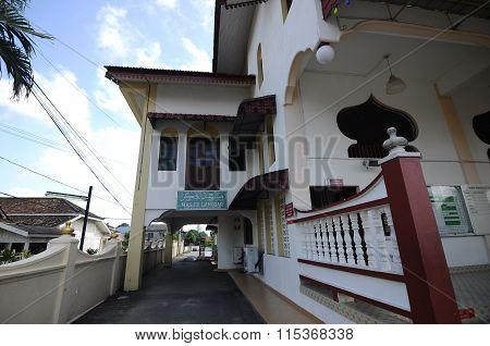 Langgar Mosque at Kota Bharu, Kelantan, Malaysia