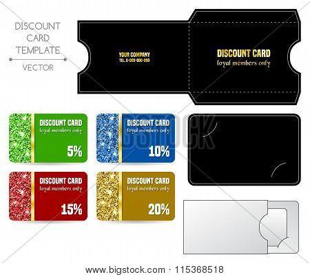 Discount Card Template