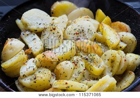 The Fried Potatoes