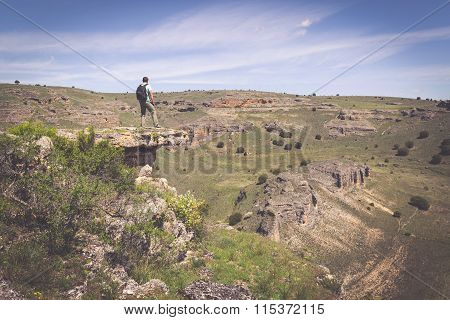Duraton Canyon Natural Park, In Sepulveda, Spain