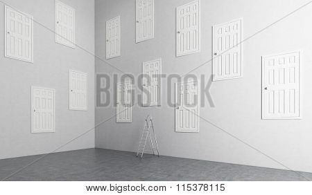 Room With Many Doors