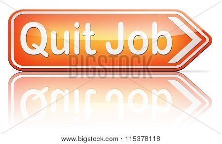 quit job resigning from work and getting unemployed