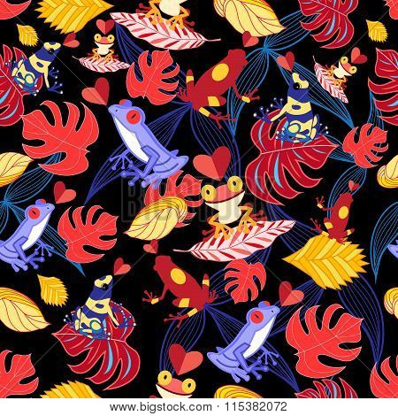 Pattern Of The Lovers Frogs