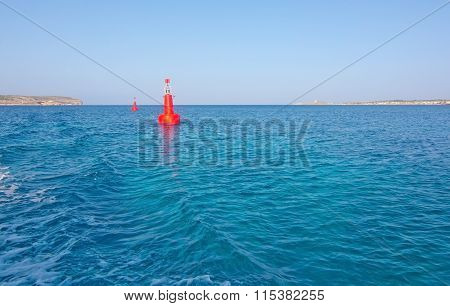 Red Buoy Light