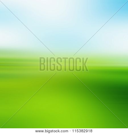 Vintage Style. Abstract Blurred Beautiful Sky Beach Texture: Yellow Green Blue Turquoise Patterns. C