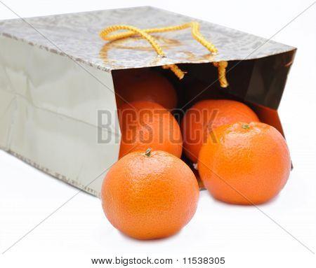 Package With  Mandarines