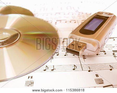 Cd Dvd Mp3 Player Vintage