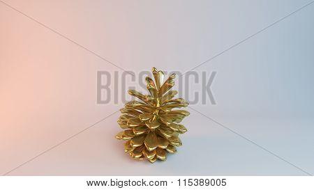 Golden 3d Pine