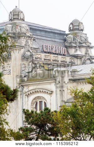 Constanta, Romania - December 27: Cazinou Constanta On December 27, 2015 In Constanta, Romania. Colo