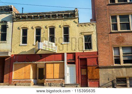 Abandoned Storefronts