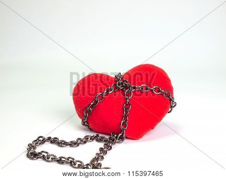 Heart ,with Chain