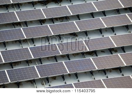 Solar power plant on roof top