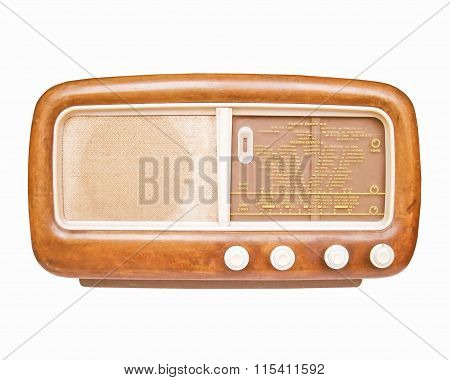 Old Am Radio Tuner Vintage