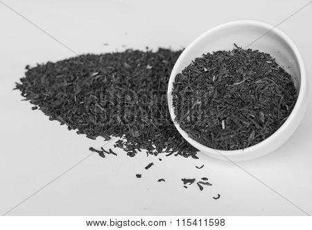 Black And White Loose Tea Bowl