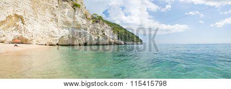 Italian Beaches - Zagare Bay - Vieste - Gargano - Puglia