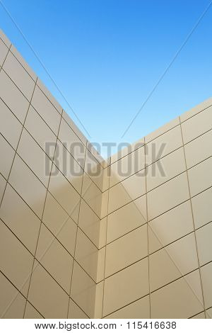 Exterior Wall Of A Skyscraper