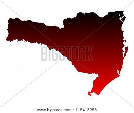 Map Of Santa Catarina