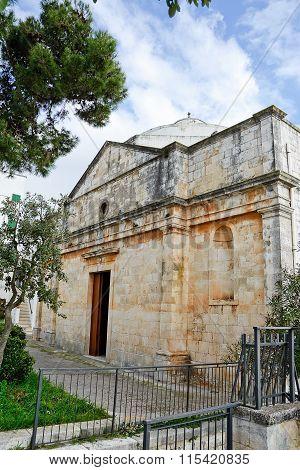 Church Of Christ In Cisternino (italy)