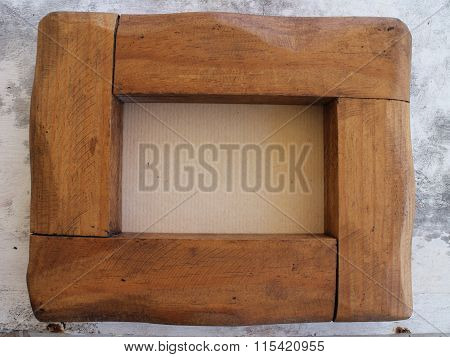 Hand Crafted Oak Picture Frame