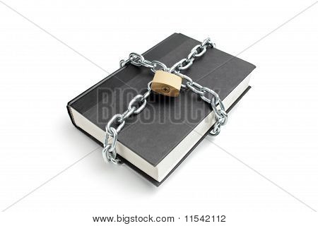 Heavy Chain Around A Book