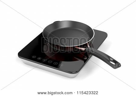 Induction Cooktop And Frying Pan