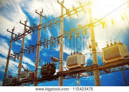 Backlighting Of Power Transformer